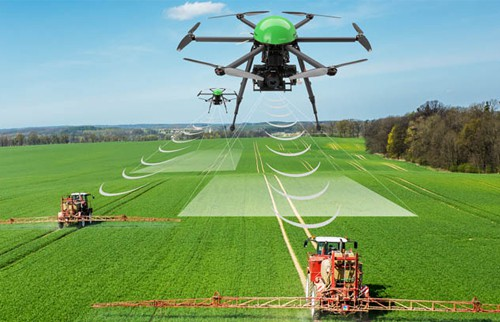 Image result for drone agriculture