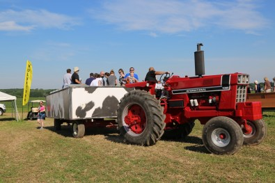 Powered by tractors or horses - everyone loves a wagon ride!
