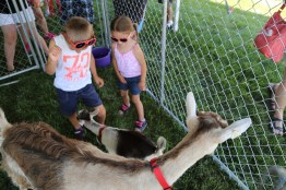 Greeting the Goats in the Petting Zoo #LoveBOTF