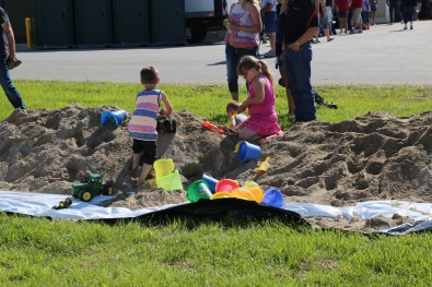 Everyone loves a good sand pile! #LoveBOTF