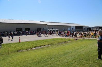 Great turnout toured our 2016 host family farm Pagel's Ponderosa Dairy