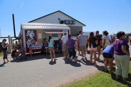 It's our famous little Red Barn - yummy ice cream was easily found at the 2016 Breakfast!