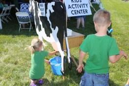 Fun kids activities at the 2016 Breakfast