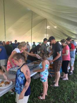 Delicious food followed by lots of fun at the 2017 Kewaunee County Breakfast on the Farm