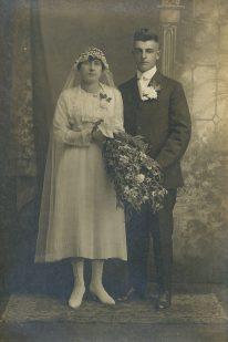 John & Josephine Deprey - Magdalene Junion's parents (Magdalene's 4th generation Junion Homestead Farm)
