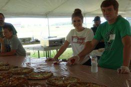Pizza for breakfast!