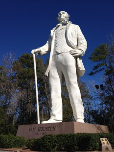 January - Sam Houston National Monument, Montgomery, TX