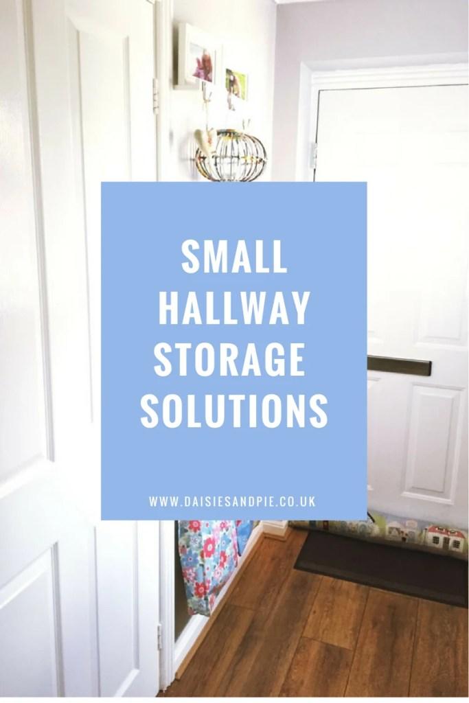Small hallway storage solutions
