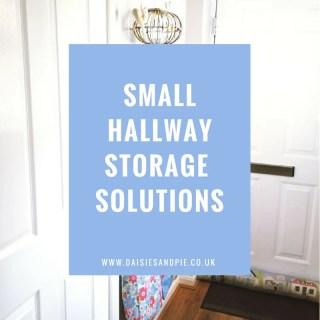 Small hallway storage ideas, home storage ideas, home organisation, homemaking tips