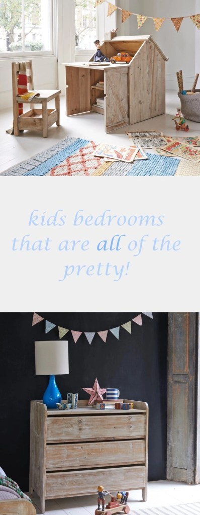 rustic kids bedroom furniture, pretty furniture for kids rooms, stylish kids bedroom ideas, home style from daisies and pie