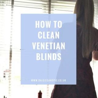 How to clean venetian blinds, cleaning tips