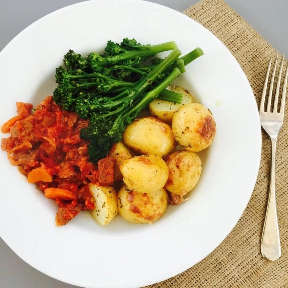Simple lamb stew