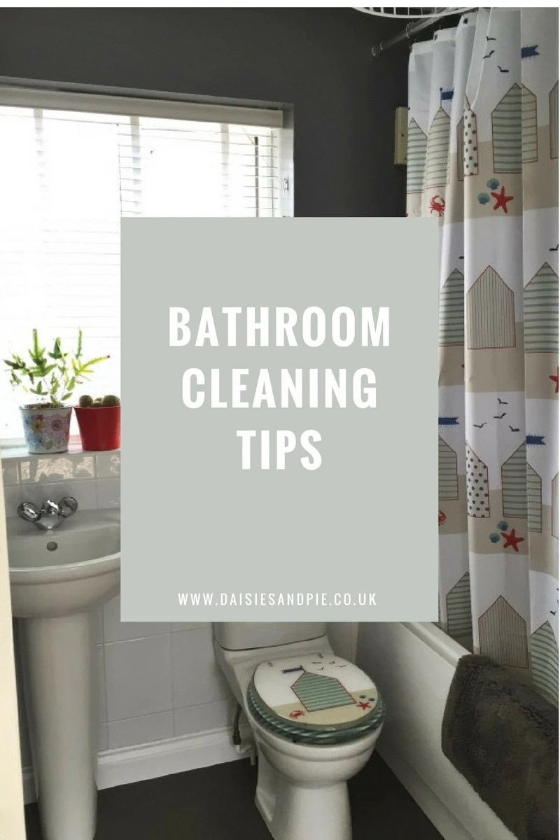 Bathroom Cleaning Tips Daisies Amp Pie