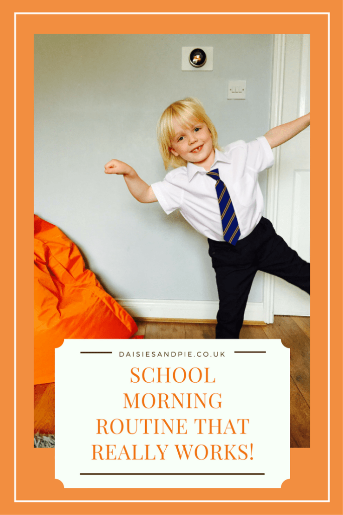 A tried and tested school morning routine that really works, back to school tips,