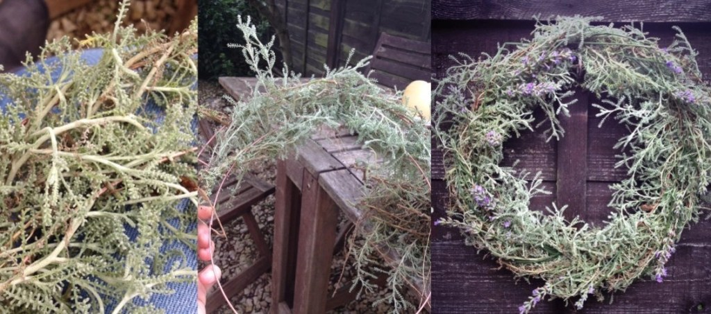 Make a herb wreath