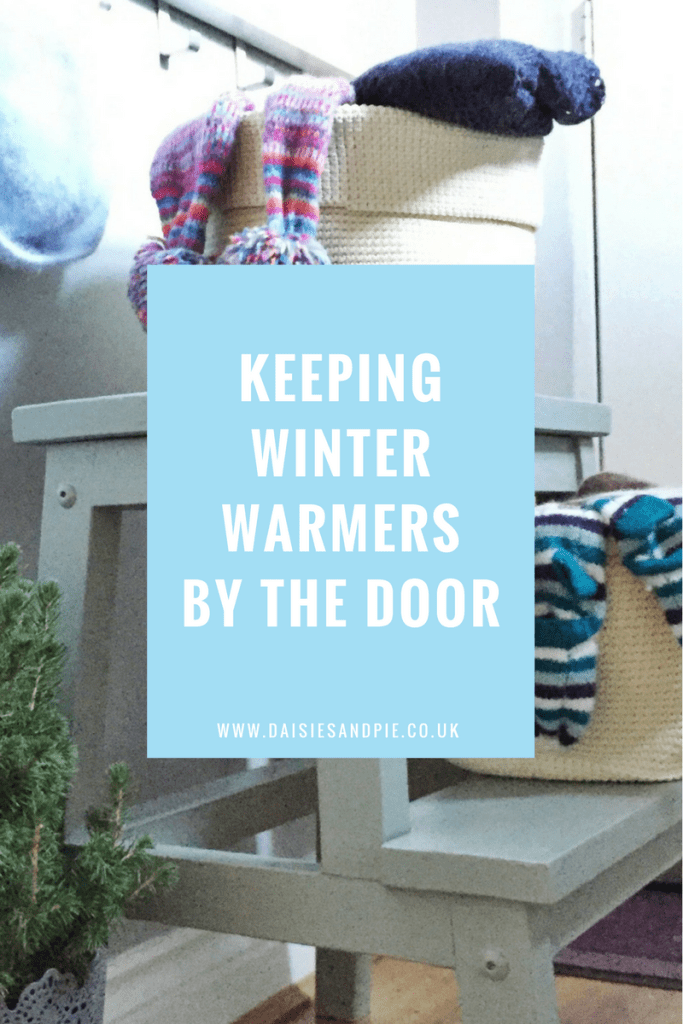Keeping winter warmers by the door, homemaking tips, winter homekeeping