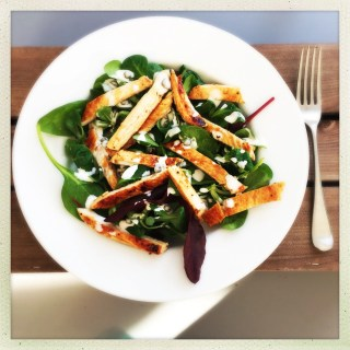quick turkey salad recipe, flash fried turkey, things to make with turkey breast, superfood salad, easy family food from daisies and pie