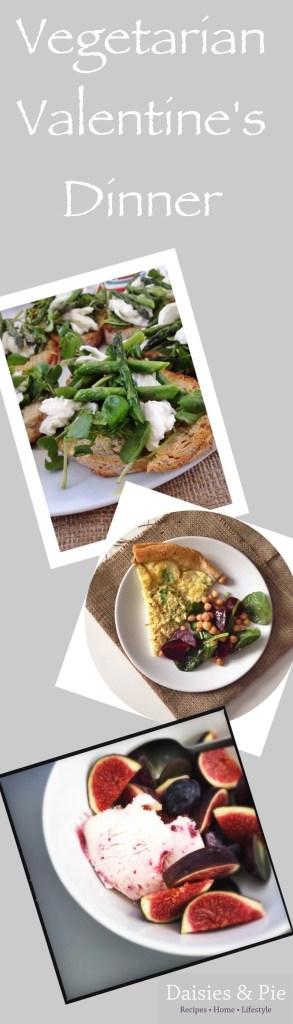 vegetarian valentine's dinner recipes, vegetarian dinner party recipes, valentine's dinner ideas
