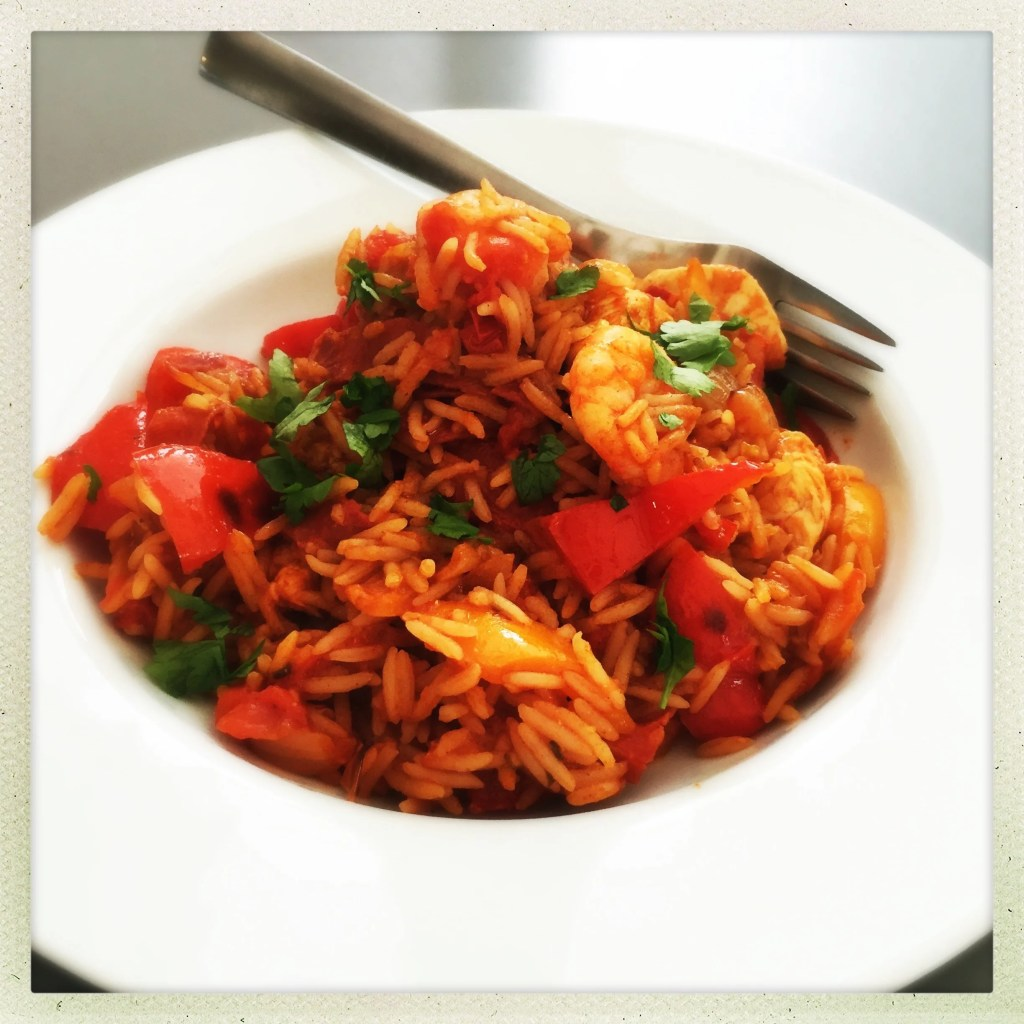 Really easy Spanish rice
