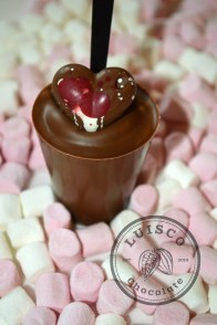 Gourmet Hot Chocolate Stirrer from Luisco Chocolate Shop Haigh Kitchen Courtyard Haigh Woodland Park, Independent Retailers North West, Artisan Food Producers North West, chocolate makers manchester