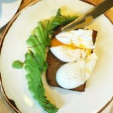 Bruch at George's Worsley, Avocado rye toast with poached eggs, where to eat brunch in Salford, where to eat brunch Manchester, places to eat Manchester