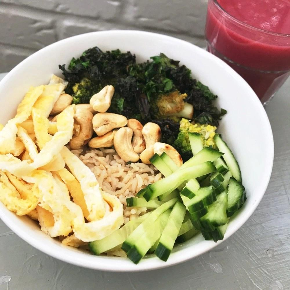 Kale and Cashew Nourish Bowl