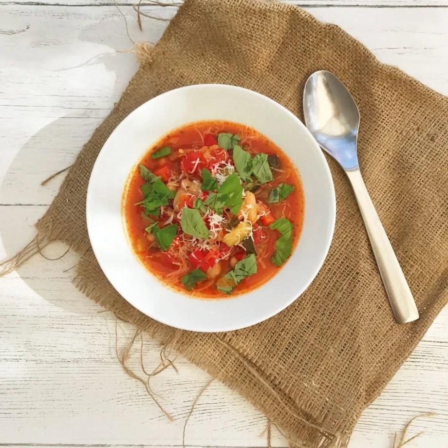Hearty Italian Vegetable Soup