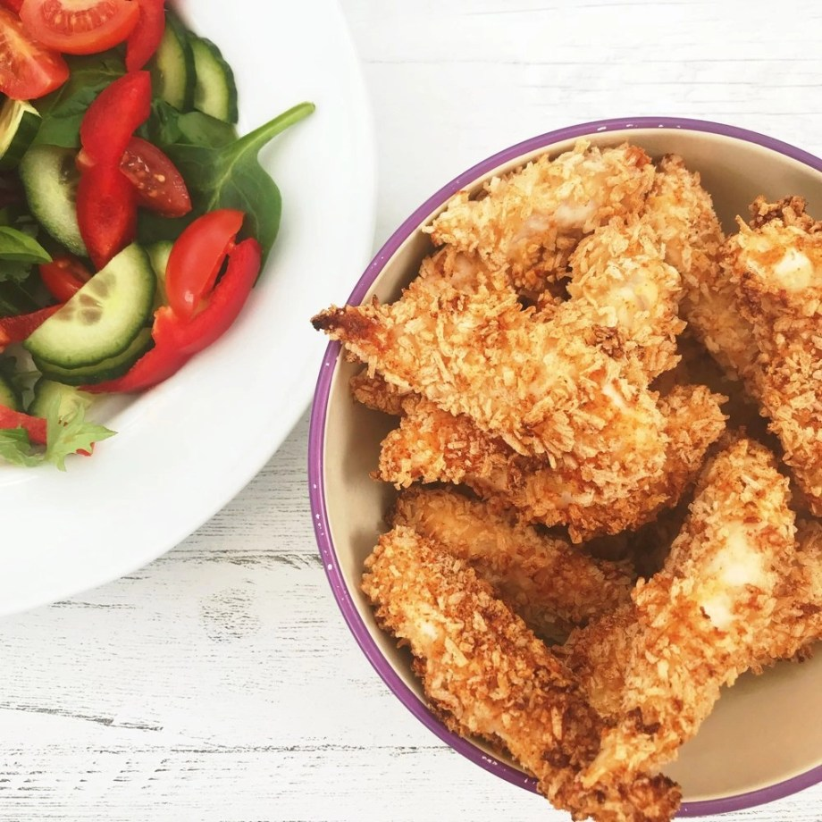 Healthy Baked Southern Fried Chicken