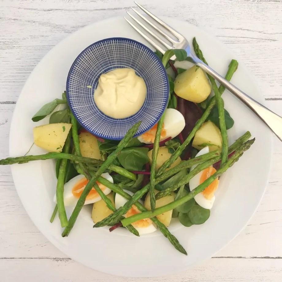 Asparagus and Egg Salad