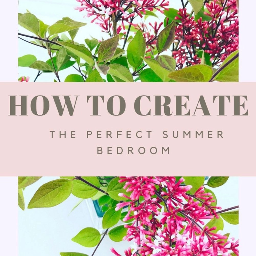 How to create a perfect summer bedroom