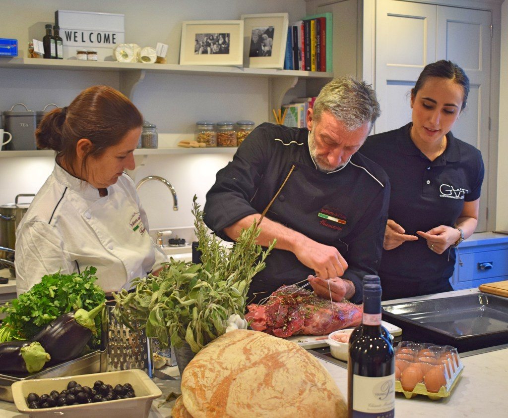 A Taste of Italy with Bookings For You & Giovannini Enterprises