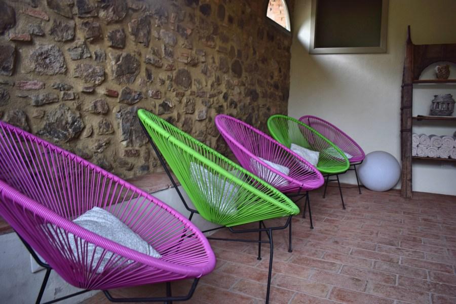 celebrating at Villa Le Capanne Tuscany