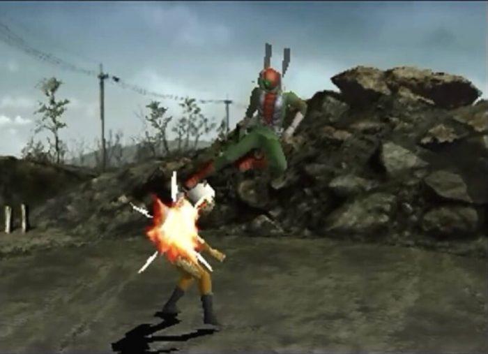 「仮面ライダーV3」戦闘1