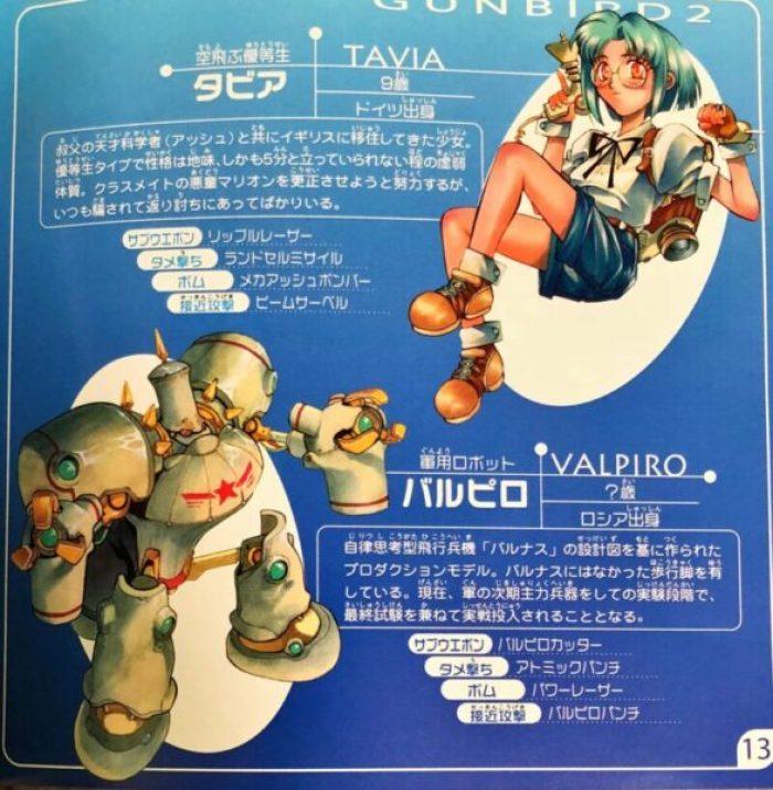 「ガンバード2」キャラクター2