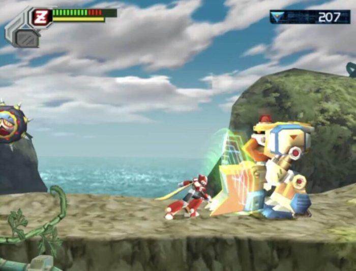 「ロックマンX8」ゼロ2