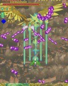 「エスプガルーダ」ステージ1-2ボス