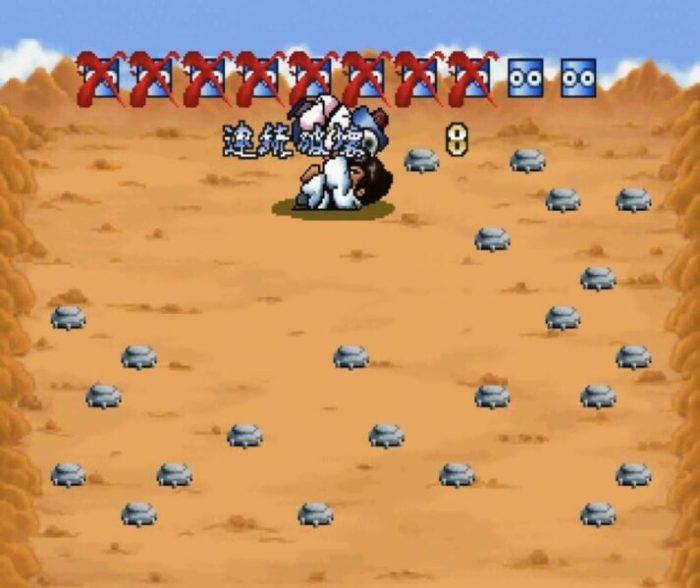 「せがた三四郎 真剣遊戯」ミニゲーム2-1