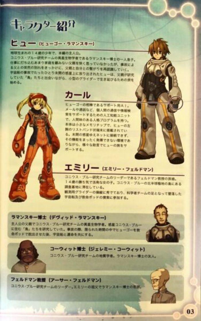 「トリノホシ」キャラクター1