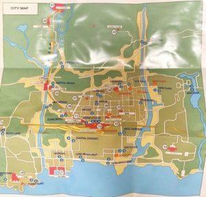 「GERMS-狙われた街-」マップ