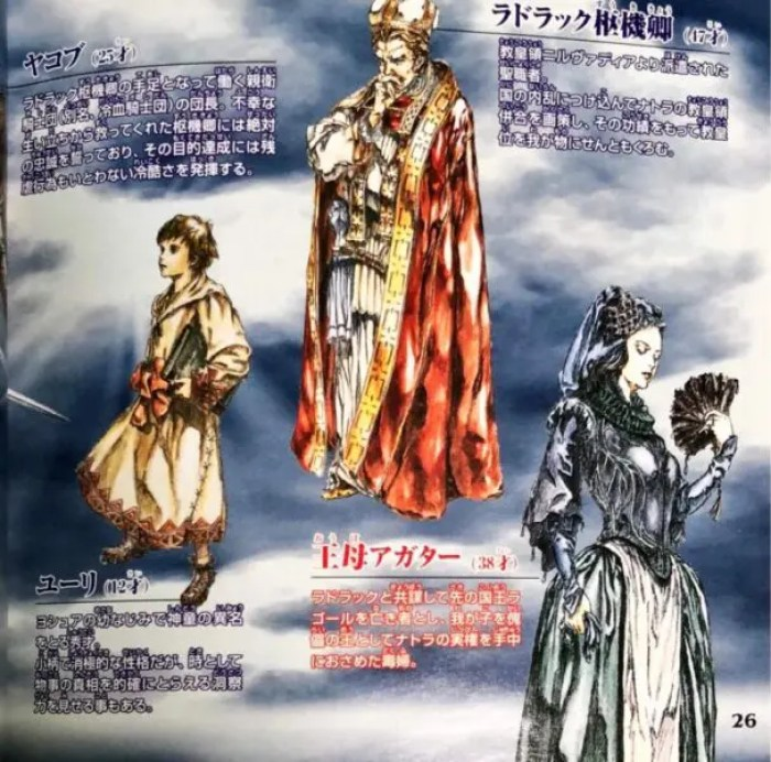 「ヴァンダルハーツ2~天上の門~」キャラクター4