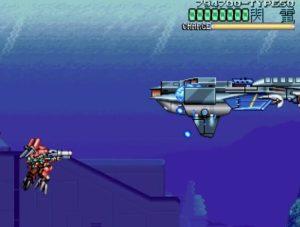 「ウルフファング 空牙2001」ミッション4-Cボス