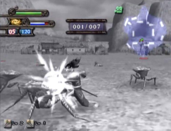 「どろろ(PS2版)」バトル1