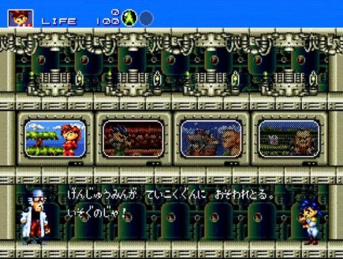 「ガンスターヒーローズ」選択画面2