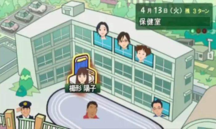 「3年B組金八先生 伝説の教壇に立て!」マップ1