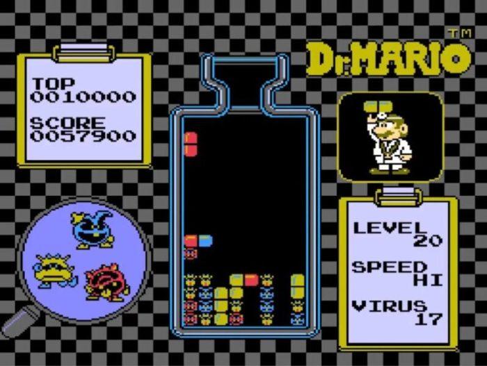 「ドクターマリオ」パズル6