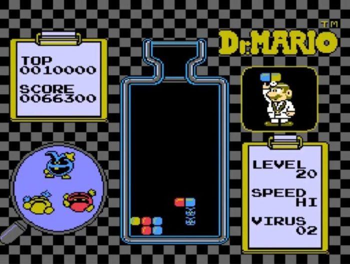 「ドクターマリオ」パズル8