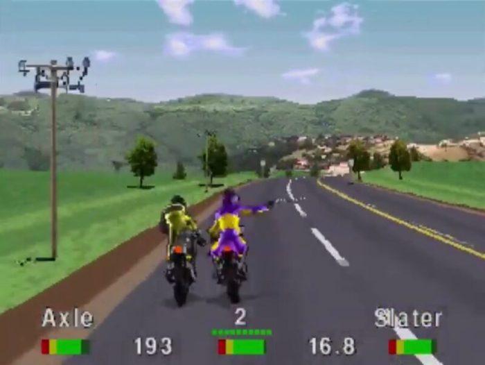 「ロードラッシュ」レース13