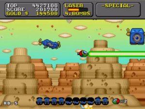「スーパーファンタジーゾーン」ステージ5