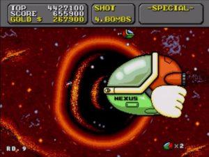「スーパーファンタジーゾーン」ステージ8ボス1