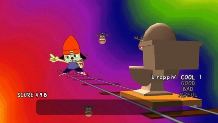「パラッパラッパー」ステージ5-2